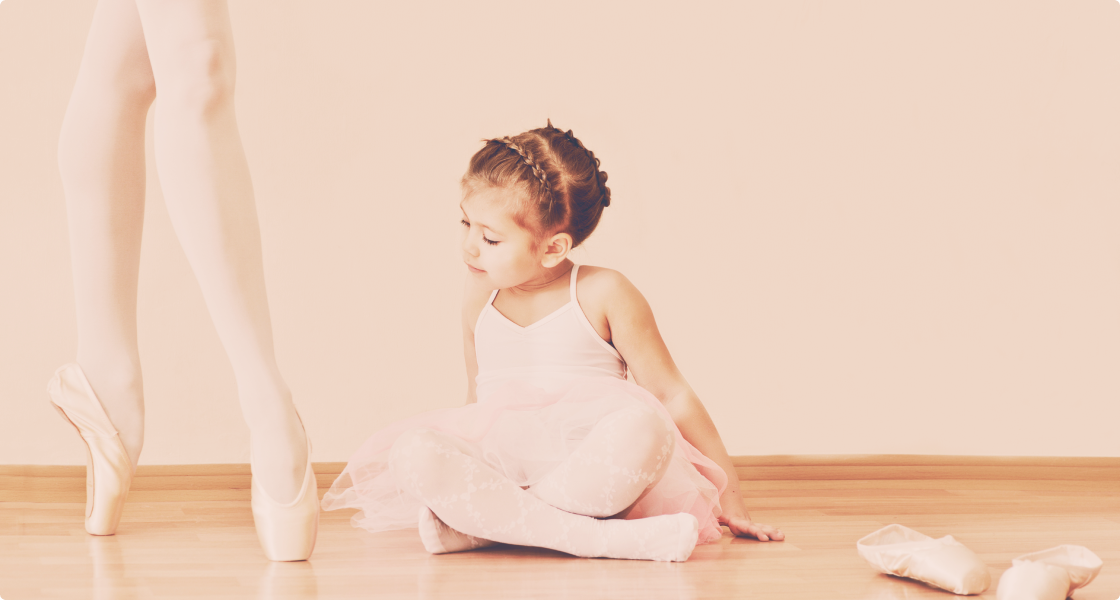 Ballet classes for kids from 3 years old